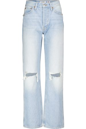 RE/DONE High-Rise Straight Jeans 90s Loose