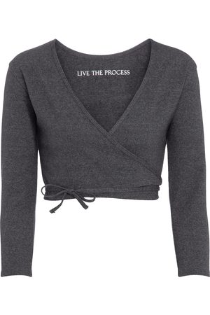 LIVE THE PROCESS Damen Sport BHs - Cropped Cardigan Zen