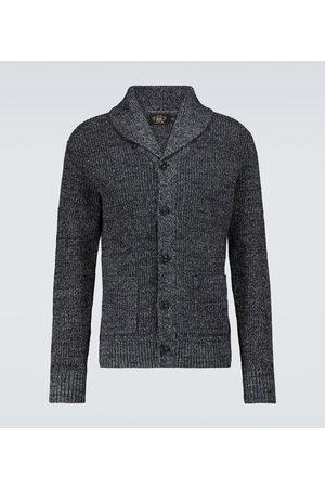 RRL Strickjacken - Cardigan aus Baumwolle und Leinen