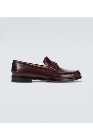 Gucci Loafers GG aus Leder