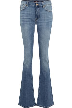 7 for all Mankind Mid-Rise Bootcut Jeans YR2000