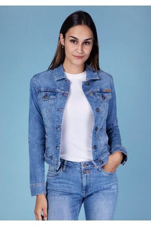 Blue Fire Jeansjacke »GIPSY-BF« perfekte Passform durch Stretch-Denim