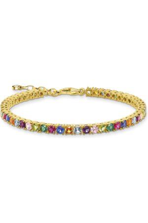 Thomas Sabo Armband Farbige Steine gold