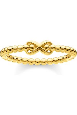 Thomas Sabo Ring Kugeln mit Infinity gold