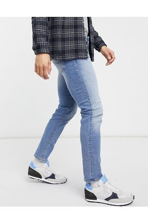 Jack & Jones Intelligence – Glenn – Jeans in schmaler Passform in Hellblau