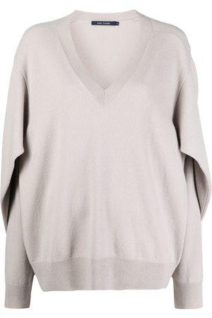 SOFIE D'HOORE Damen Strickpullover - Pullover mit gebundenen Ärmeln