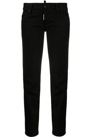 Dsquared2 Schmale Cropped-Jeans