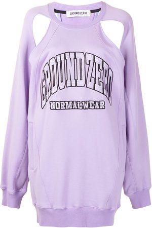 Ground Zero Damen Sweatshirts - Sweatshirt mit Logo-Stickerei