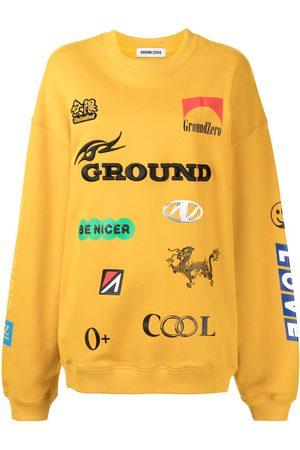 Ground Zero Sweatshirt mit Rundhalsausschnitt