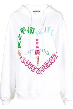 Ground Zero Damen Sweatshirts - Hoodie mit Stickerei