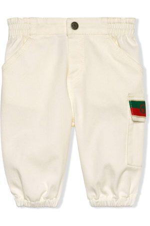 Gucci Kids Jeans mit Jacquard-Logo
