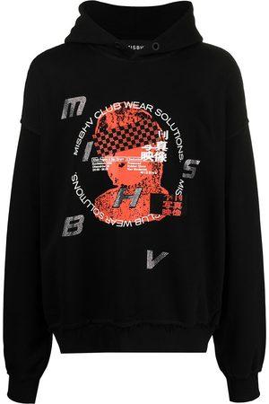 MISBHV Herren Sweatshirts - Hoodie mit grafischem Print