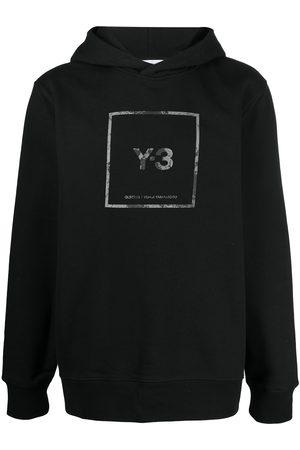 Y-3 Hoodie mit Logo-Print