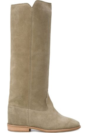 Isabel Marant Cleave' Wedge-Wildlerstiefel