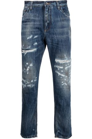 Dolce & Gabbana Cropped-Jeans im Distressed-Look