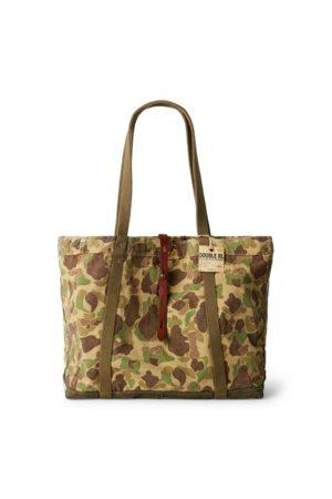 RRL Camouflage-Tragetasche aus Twill