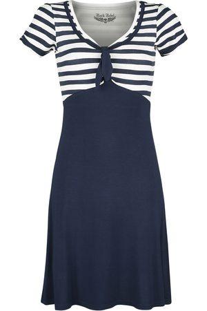 Rock Rebel Damen Midikleider - /weißes Kleid im 50er Stil Mittellanges Kleid /weiß