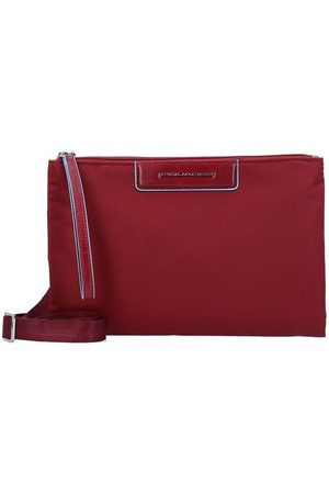Piquadro Celion Umhängetasche 27 cm, rosso