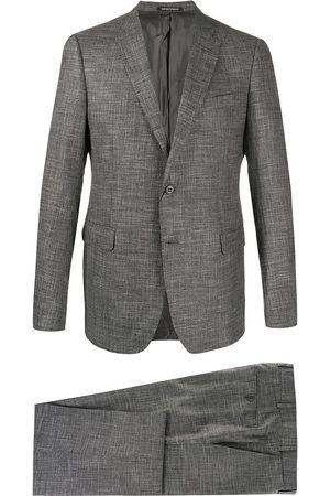 Emporio Armani Zweiteiliger Anzug mit schmalem Schnitt