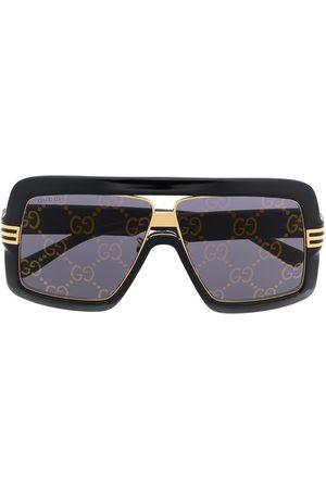 Gucci Eckige Oversized-Sonnenbrille