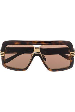 Gucci Sonnenbrille mit Oversized-Gestell
