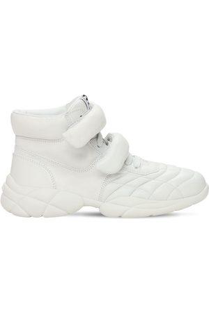 Miu Miu 20mm Hohe Ledersneakers