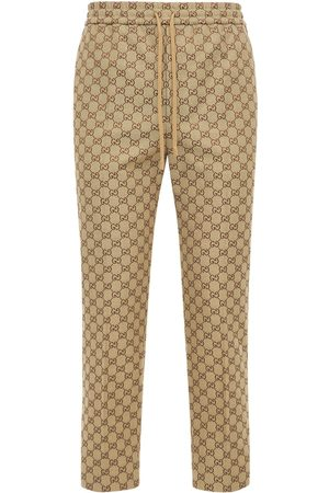Gucci Jogginghose Aus Baumwollmischcanvas