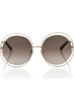 Chloé Runde Sonnenbrille Carlina