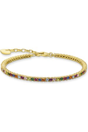 Thomas Sabo Damen Armbänder - Armband Farbige Steine silber