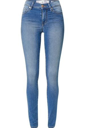 Yellow Blue Denim Jeans 'New Soph