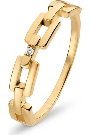 CHRIST Diamonds Damen-Damenring 375er Gelbgold Diamant '