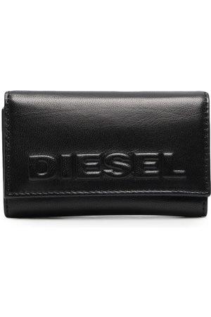 Diesel Schlüsseletui mit Logo-Prägung