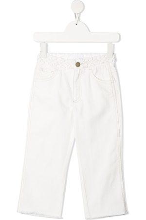 Chloé Halbhohe Straight-Leg-Jeans