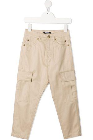 Balmain Gerade Jeans mit Cargo-Taschen