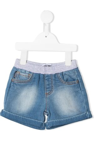 Moschino Jeans-Shorts mit Teddy-Patch