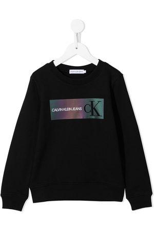 Calvin Klein Sweatshirt mit Logo-Print