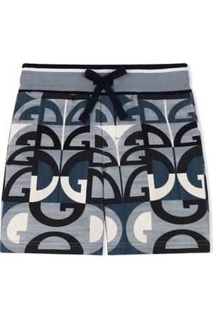 Dolce & Gabbana Kids Shorts mit Logo-Print