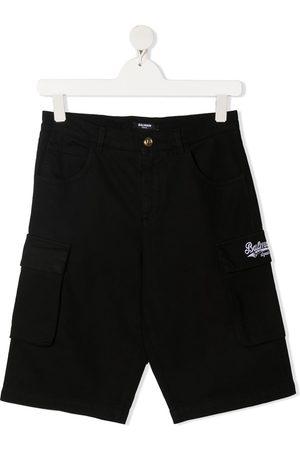 Balmain TEEN Cargo-Shorts mit Logo