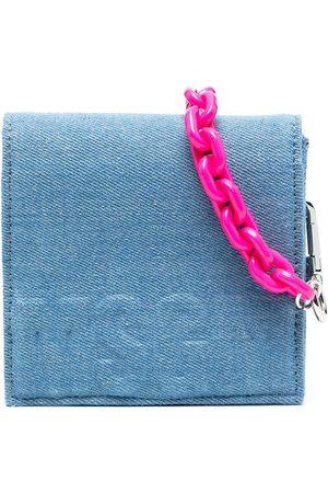 MSGM Kids Mädchen Cropped - Jeans-Schultertasche mit Logo