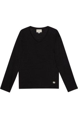 Gucci Herren T-Shirts, Polos & Longsleeves - Leinen-T-Shirt mit GG