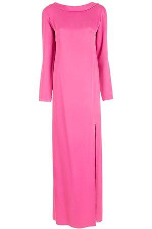 Gloria Coelho Kleid mit tiefem Ausschnitt