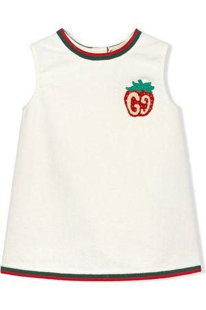 Gucci Kleid mit GG-Erdbeere