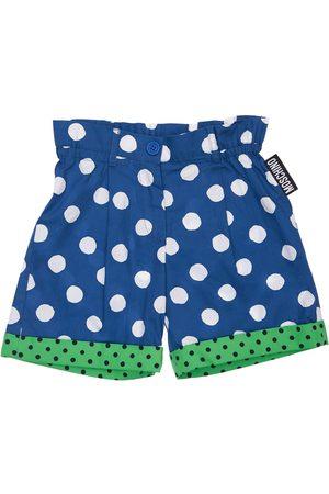 Moschino Bedruckte Shorts Aus Popeline