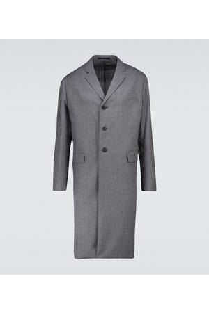 Prada Einreihiger Mantel aus Wolle