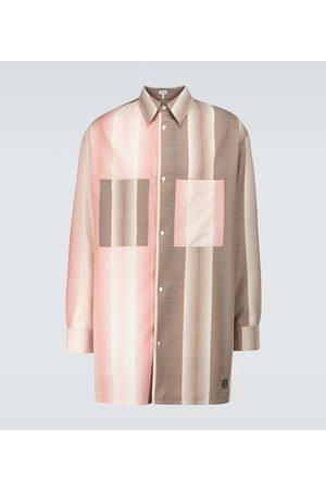 Loewe Oversize-Hemd aus einem Wollgemisch