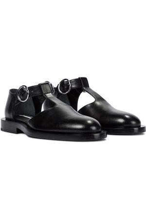 Jil Sander Mary-Jane-Loafers aus Leder