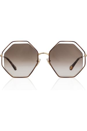 Chloé Eckige Sonnenbrille Poppy Petite