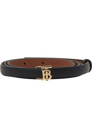 Burberry Full-grain calfskin belt