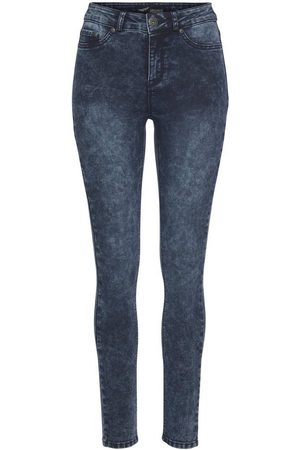 ARIZONA Damen Stretch - Skinny-fit-Jeans »Ultra Stretch moon washed« Moonwashed Jeans