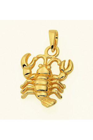 Adelia's Damen Halsketten - Kette mit Anhänger »585 Sternzeichen Anhänger Krebs - Set mit Halskette«, 585 Goldschmuck für Damen & Herren